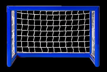 Voetbaldoel Klein Blauw-0